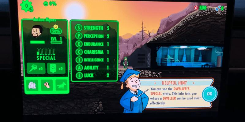 Игра Fallout Shelter появилась в автомобилях Tesla (screenshot from 2020 05 23 13 19 38 1)