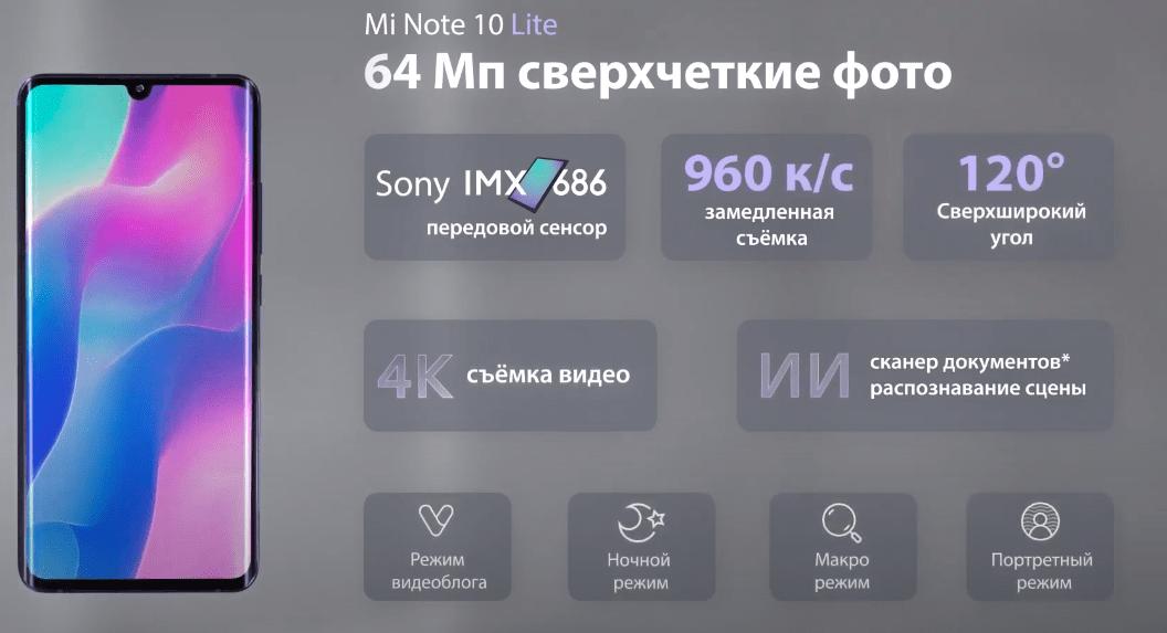 Xiaomi представила Lite-версию смартфона Xiaomi Mi Note 10 в России (screenshot from 2020 05 28 21 19 59)