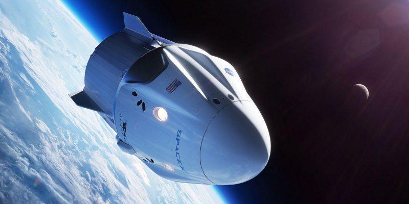Запуск модуля Crew Dragon успешно состоялся (spacex crew dragon spaceship nasa commercial crew program illustration 42878298755a9670c6596o)