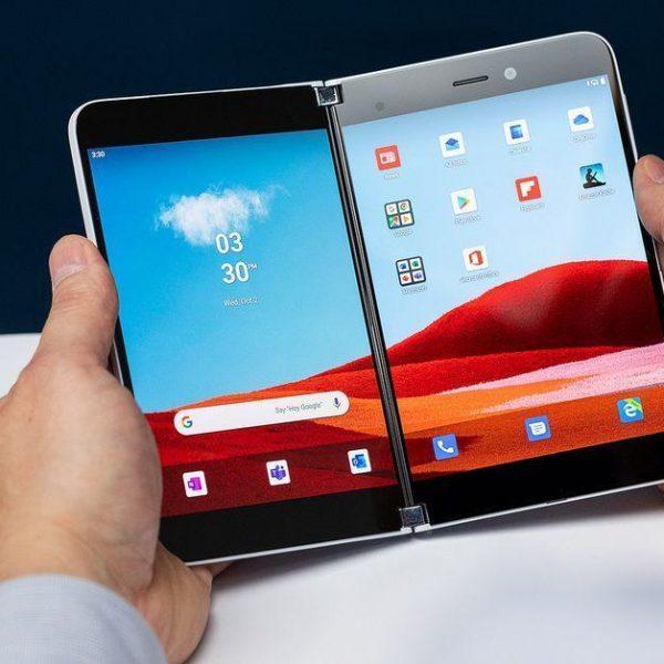 В сеть утекли характеристики Microsoft Surface Duo (surface duo)