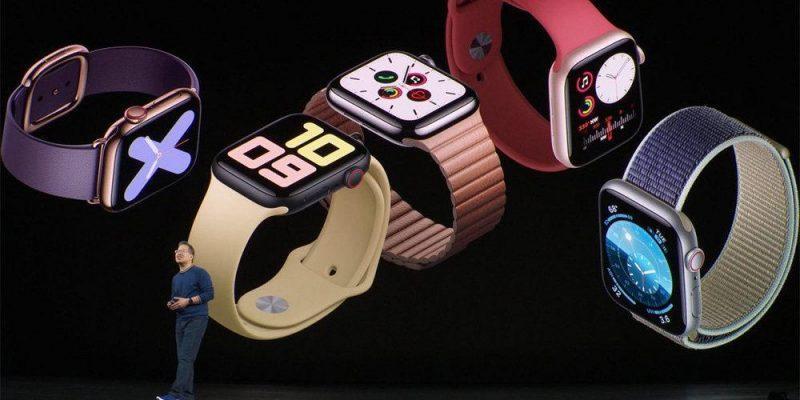Apple по-прежнему на первом месте в секторе умных часов (watch5 1000)