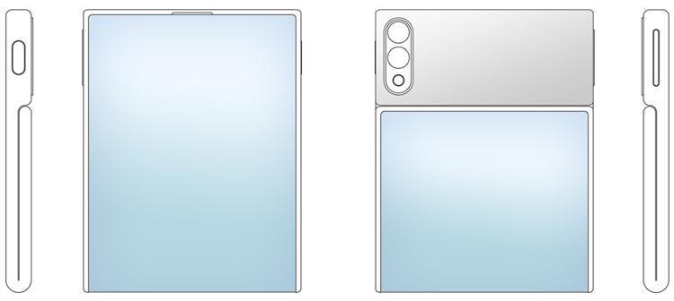 ZTE готовит смартфон раскладушку (zte2)