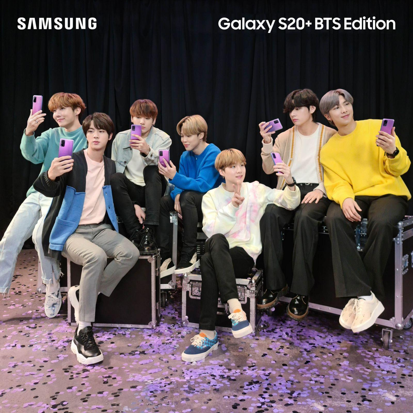 Samsung представляет Galaxy S20+ и Galaxy Buds+ BTS Edition (01 galaxy s20plus bts edition lifestyle kv 1x1 min scaled)