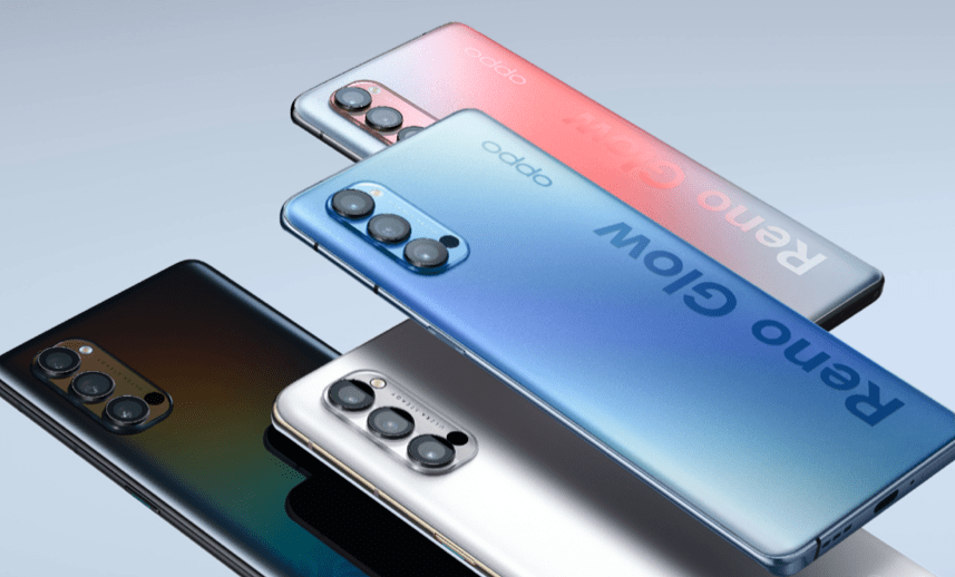 OPPO Reno4 не получит 5G в Юго-Восточной Азии (6. oppo reno4 pro galactic blue sparkling red space white and space black)