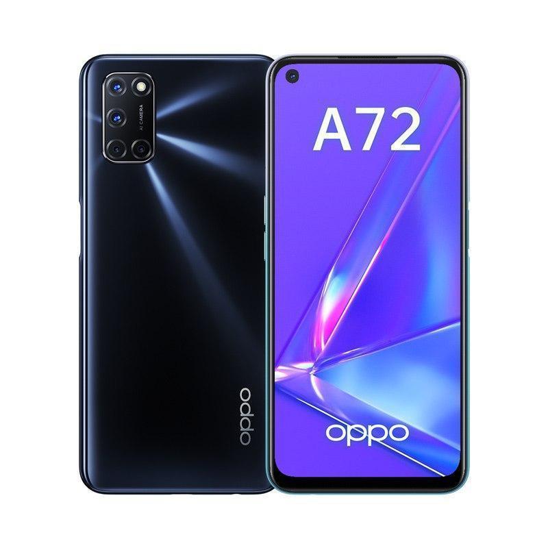 OPPO выпустила недорогой смартфон OPPO A72 с мощным аккумулятором (a72 black)