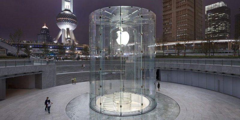 Apple удаляет приложения с подкастами в Китае по запросу правительства (apple china store pudong)