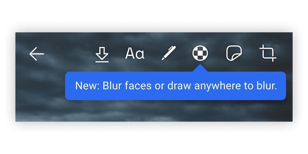 Signal научился размывать лица на фотографиях (blur toolbar)