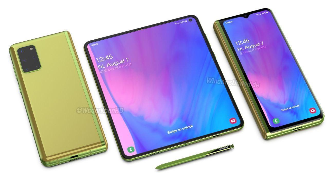 Samsung Galaxy Fold 2 получит очень большой экран ()