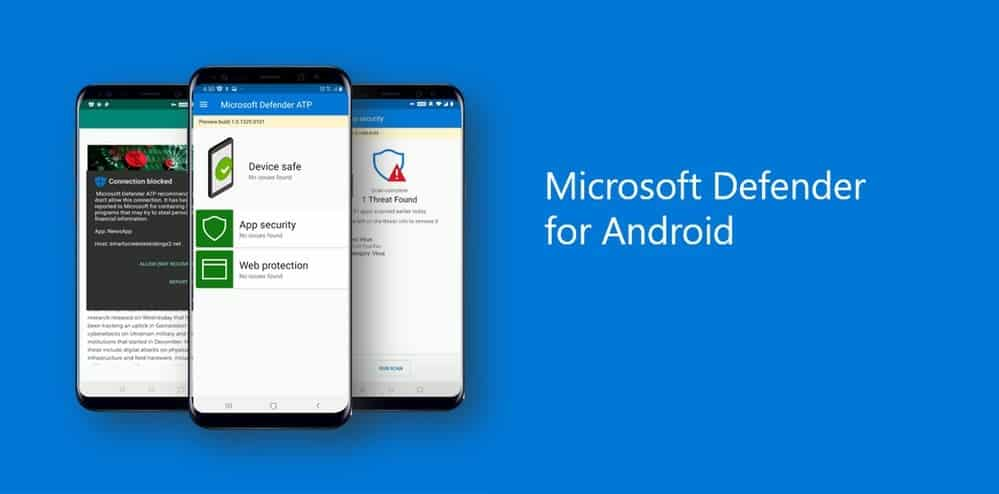 Антивирус Microsoft Defender появился на Android (defender)