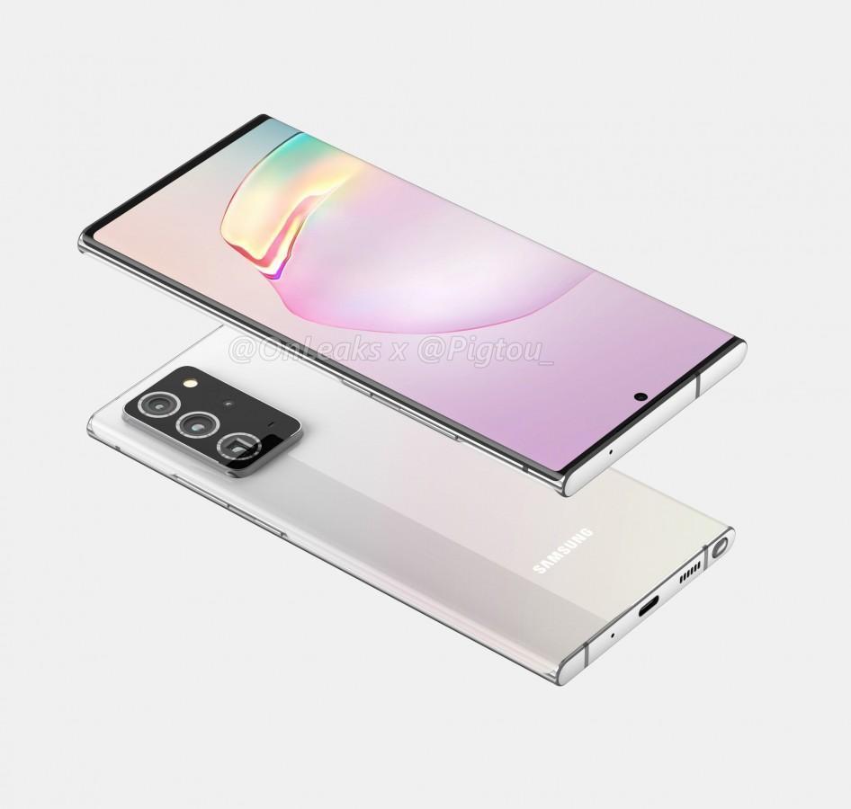 Samsung может представить Galaxy Z Flip 5G, Note 20 и Fold 2 в начале августа (galaxy note 20 1)