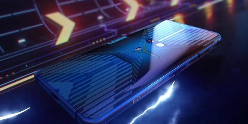 Игровой смартфон Lenovo Legion дебютирует в июле (lenovo legion gaming phone watermarked 2)