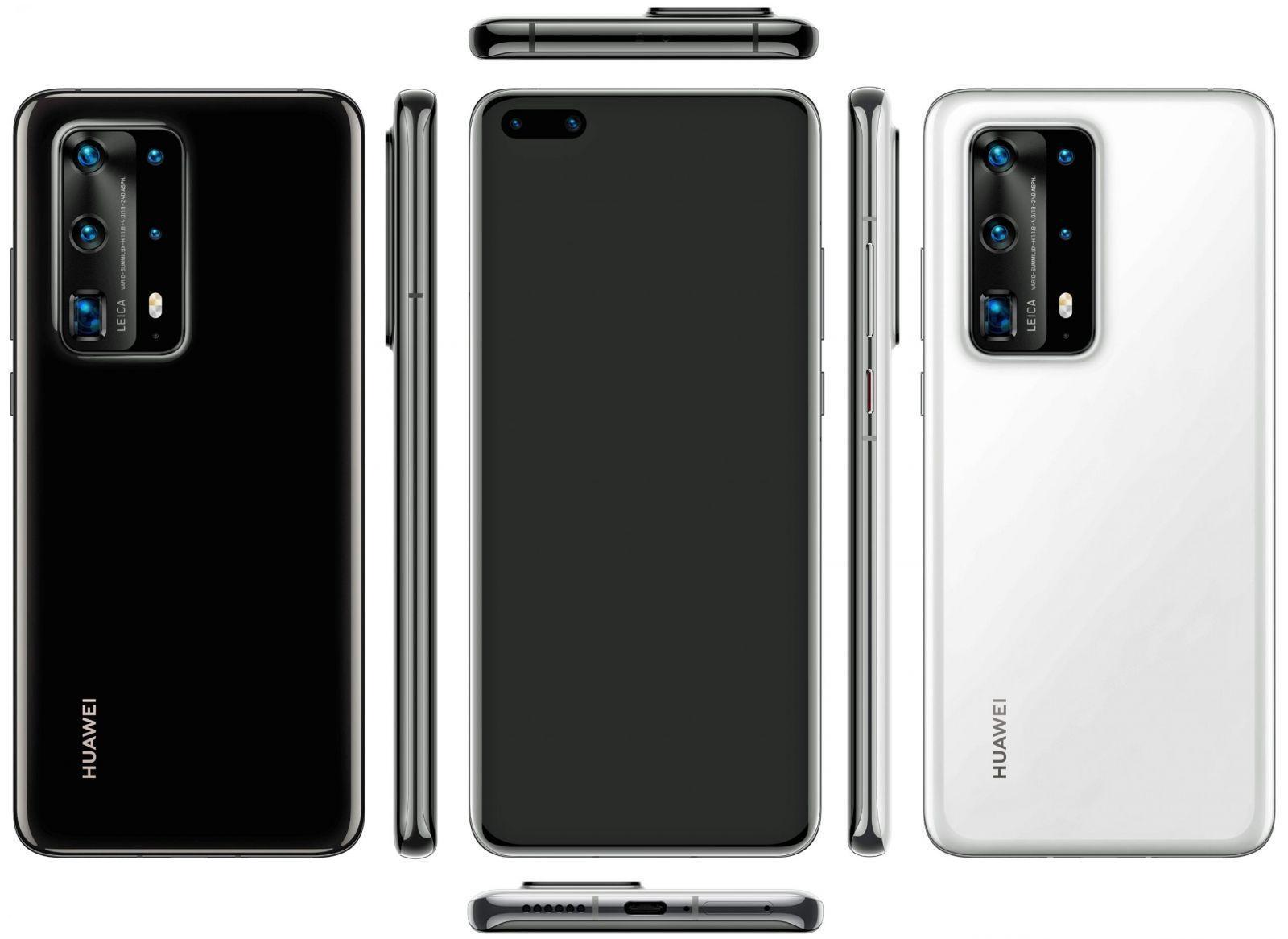 Huawei P40 Pro+ появится в Европе 25 июня (nastoaschij huawei p40 pro s udivitelnoj optikoj na rendere picture3 0 scaled)