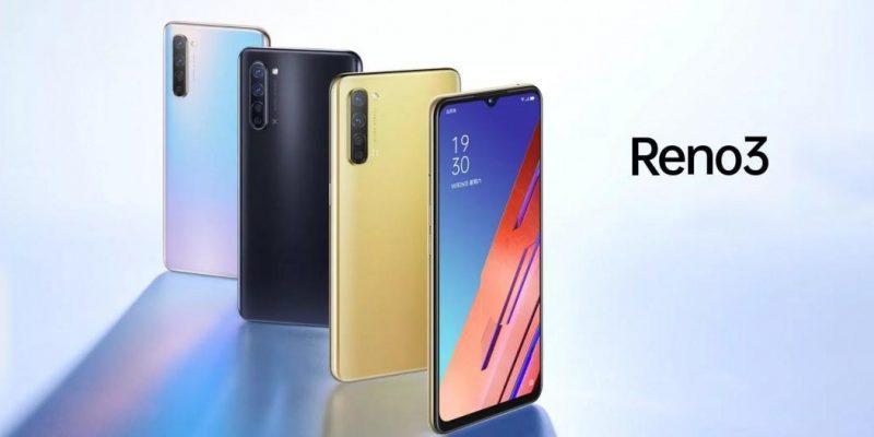 OPPO представила смартфон OPPO Reno3 A (new oppo reno3)