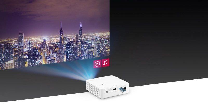 LG выпустила проектор, который заменит вам домашний кинотеатр (pjt ph30n 05 usb plug play d)