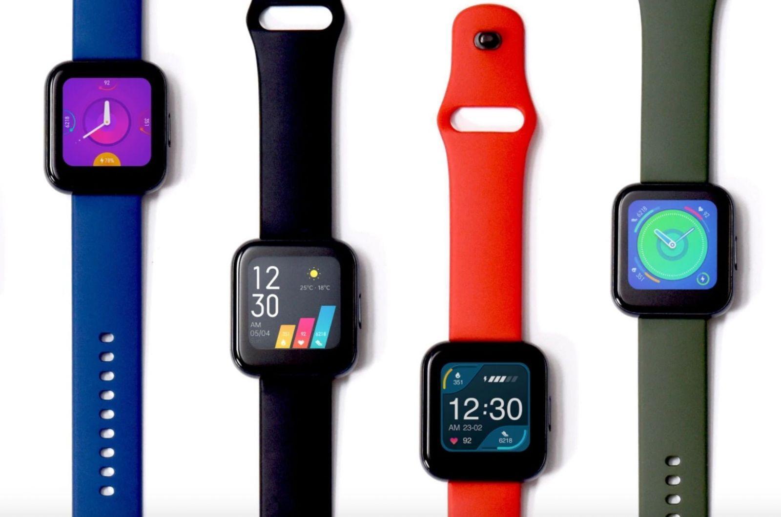 Realme Watch получили поддержку русского языка (realme watch 2)