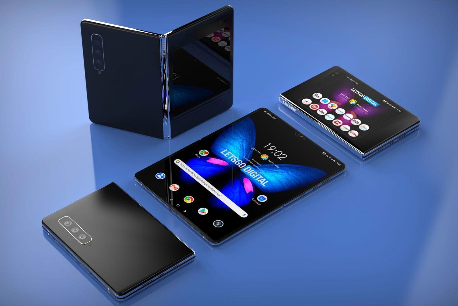 Samsung Galaxy Fold 2 получит очень большой экран (samsung galaxy fold 2 0)