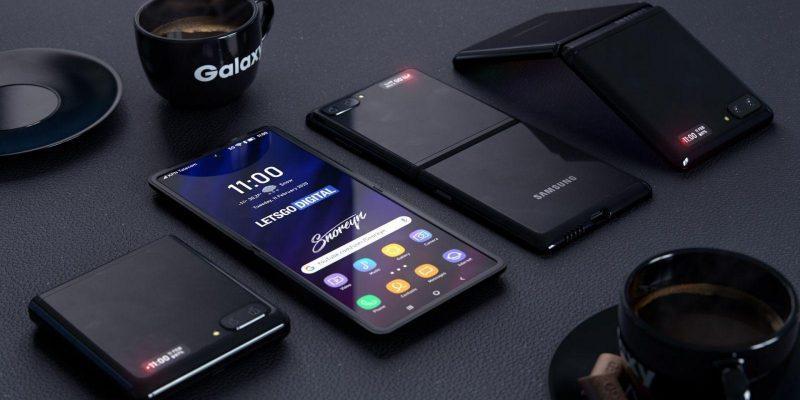 Samsung представит Galaxy Z Flip с поддержкой 5G (samsung galaxy z flip 1920x1080 foldable smartphone 4k 22498)