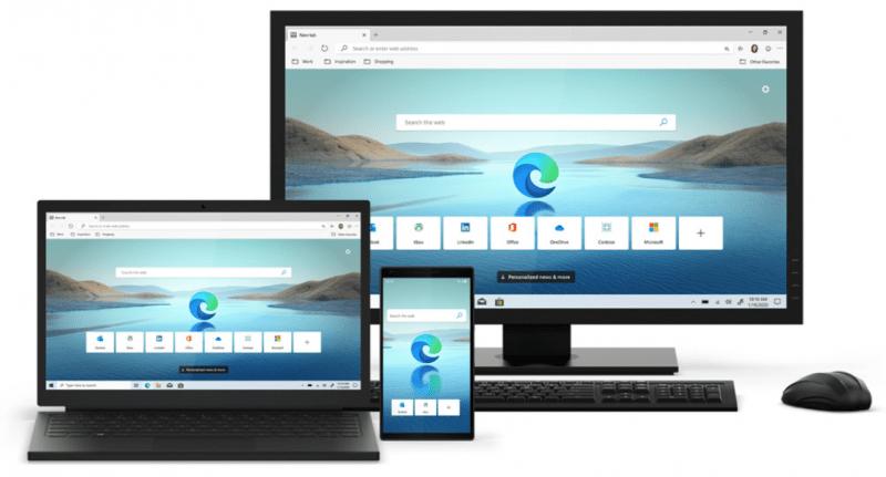 Microsoft выпускает новый браузер Microsoft Edge для Windows 10 (sm.new ms edge 1.800)