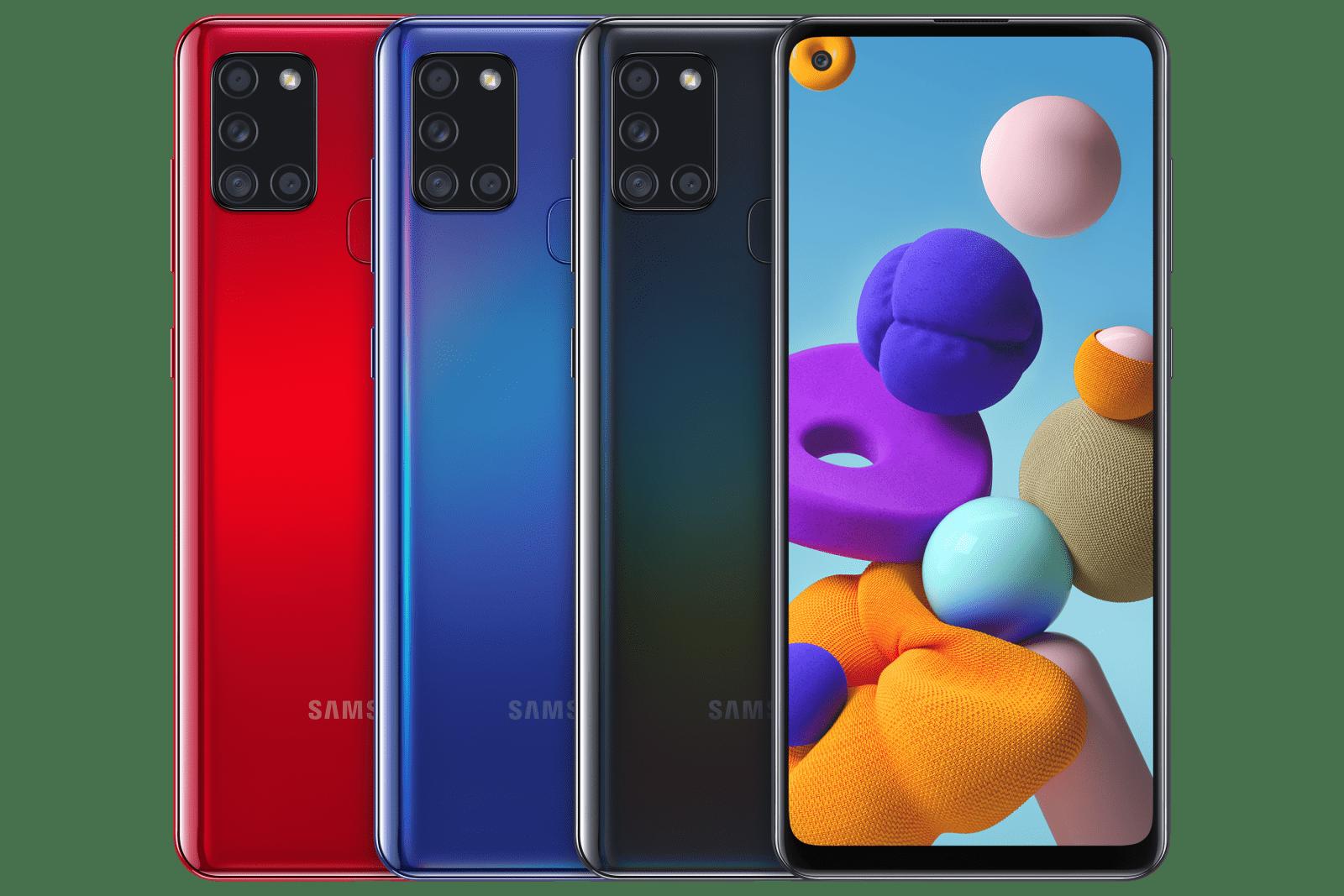 Samsung Galaxy A21s поступил в продажу в России ()