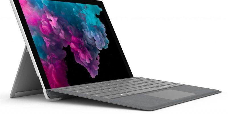 Microsoft Surface Pro был замечен на GeekBench (surface pro 6 1)