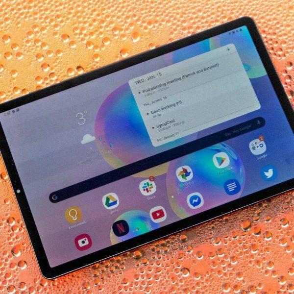 Samsung Galaxy Tab S7+ получит аккумулятор на 10 090 мАч (tab s6 header scaled 1)