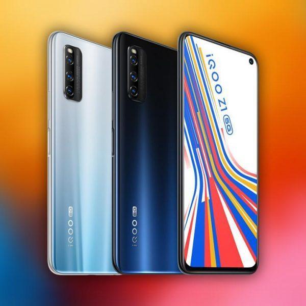 iQOO готовит новый смартфон iQOO Z1x (vivo iqoo z1 5g)