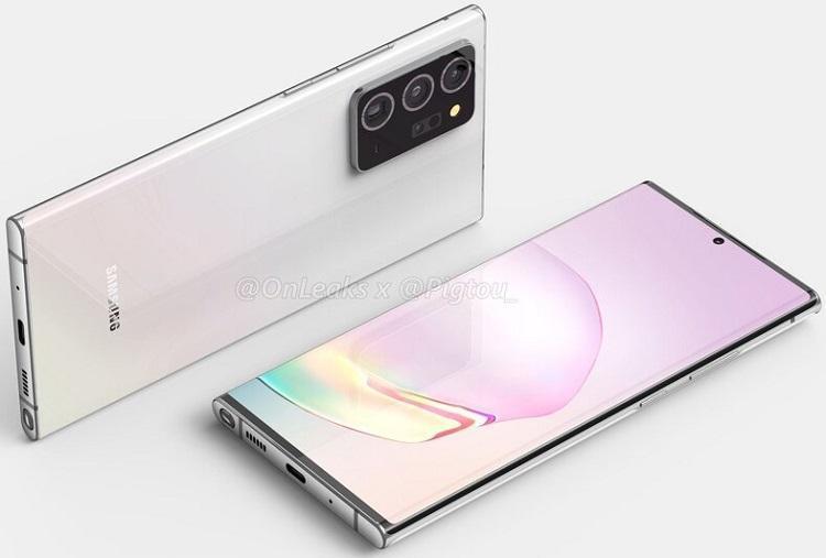 В сеть опубликовали рендеры Samsung Galaxy Note 21 Ultra (324234234)