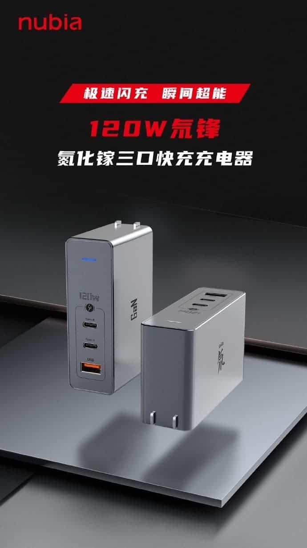Nubia представит 28 июля трёхпортовое быстрое зарядное устройство 120 Вт (39e7936151bf4aef8f41caa1a5019bfc 1)