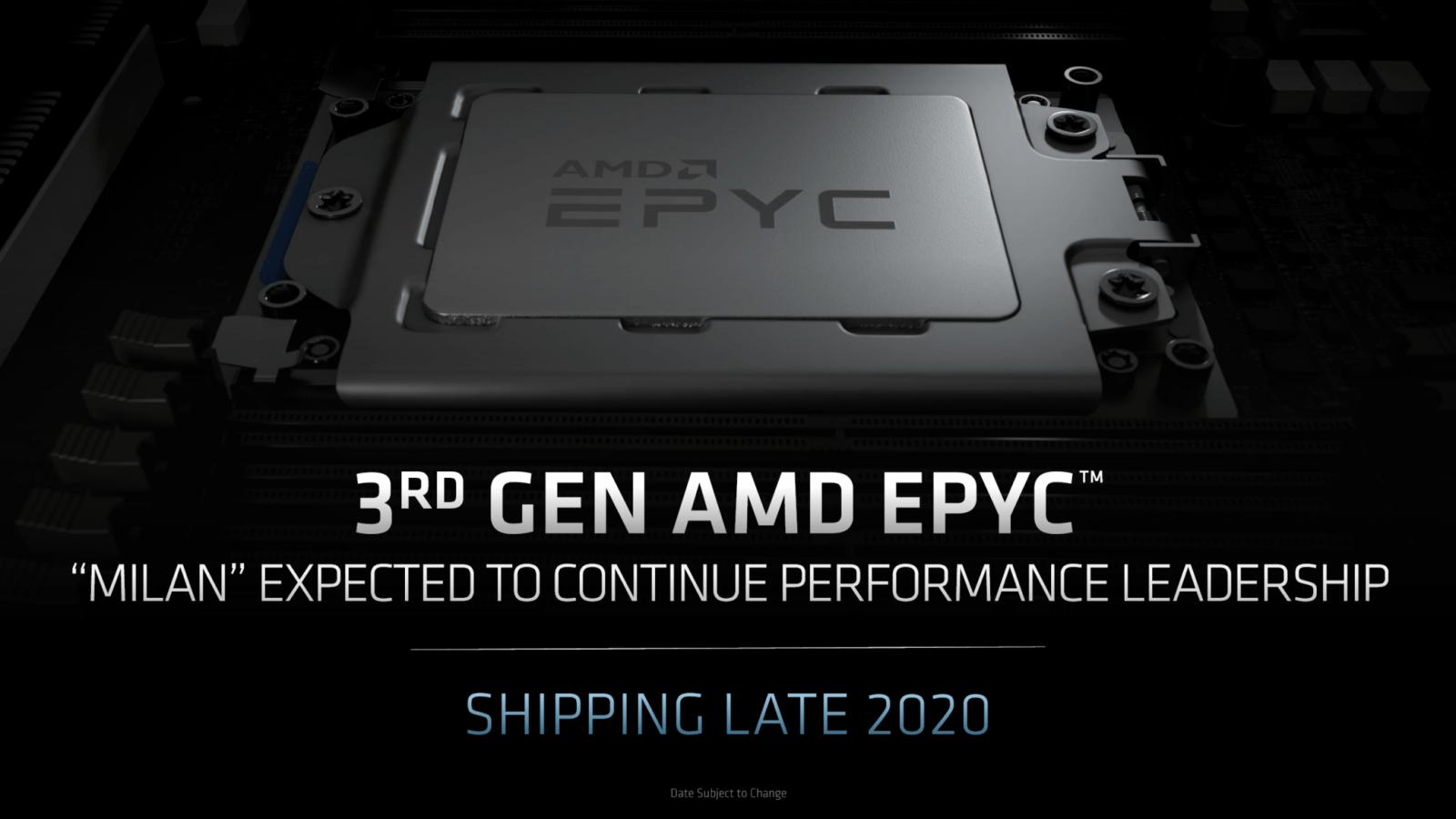 AMD планирует открыть продажи процессоров на архитектуре Zen 3 к концу года (amd zen roadmap 2020 epyc milan epyc genoa 2 2060x1159 1)