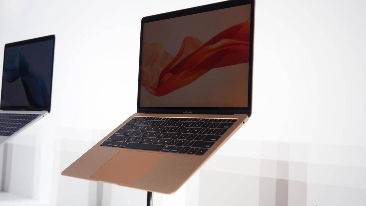 Отчёт: 13-дюймовый MacBook Pro / Air и 10,8-дюймовый iPad выйдут к концу 2020 года (apple macbook air 2018 2 1280x720 1)
