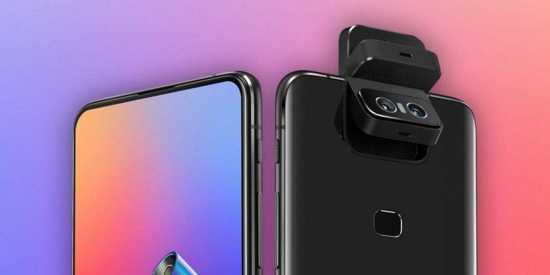 ASUS в скором времени выпустит новый телефон с флип-камерой (asus zenfone 6)