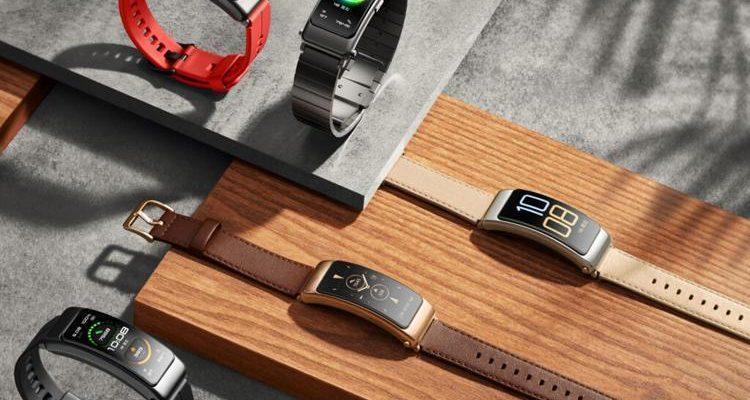 Huawei выпустила фитнес-браслет Huawei TalkBand B6 (band2)