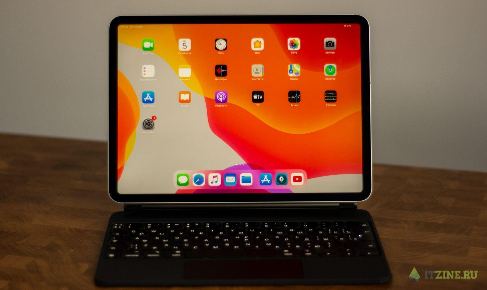 Дизайнерский рай. Обзор Apple iPad Pro 2020 + Apple Pencil + Magic Keyboard (dsc 8865)