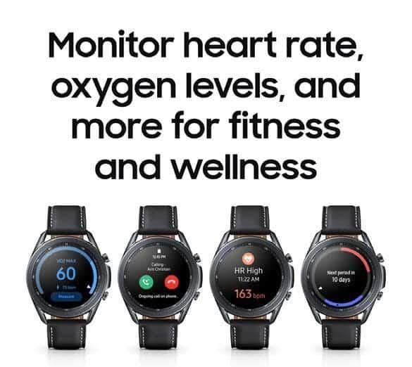 В сеть утекли рекламные материалы и изображения Samsung Galaxy Watch 3 (eenyezvwoaihwx2 2)