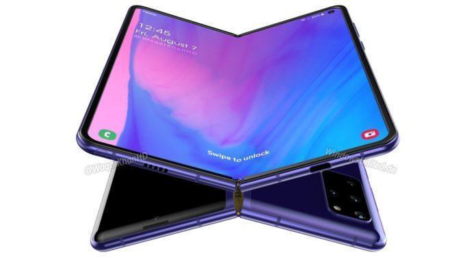 Samsung изменит название предстоящего смартфона Galaxy Fold 2 (galaxy fold 2 concept renders rumours based 04 696x392 1)
