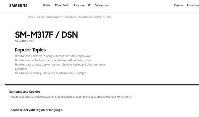 Подтверждено: Samsung Galaxy M31s получит Exynos 9611 (galaxy m31s 2)