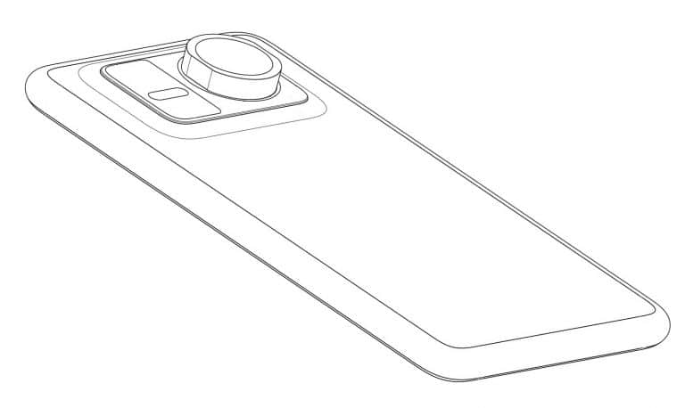Huawei запатентовала смартфон со сменным зум-объективом (huawei attachable zoom lens design patent featured)