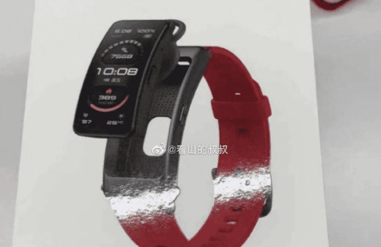 Huawei готовится выпустить новый браслет-гарнитуру (huawei talkband b6 large)