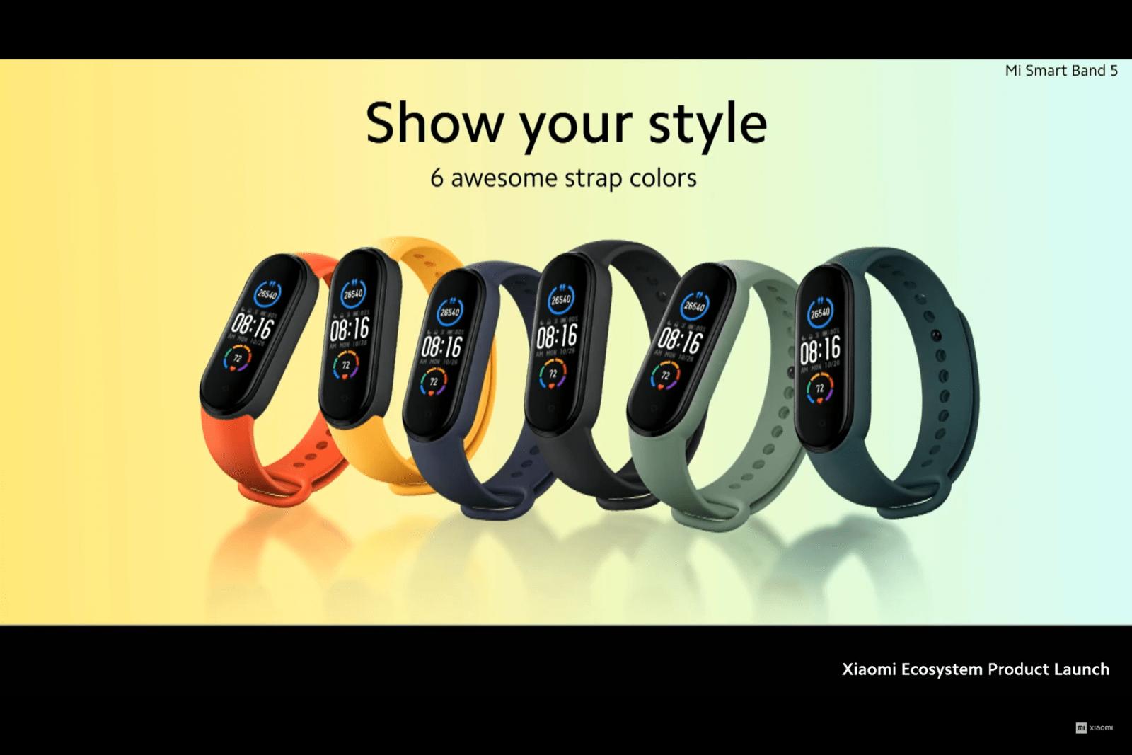 Xiaomi представила глобальную версию браслета Mi Band 5 (image 7)