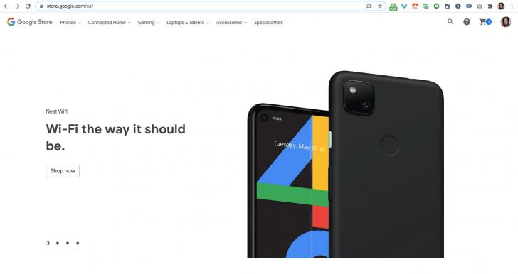 Google опубликовала пресс-рендер Pixel 4a ()
