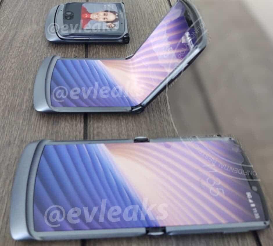 В сеть слили фото смартфона Motorola RAZR (motorola razr 5g)