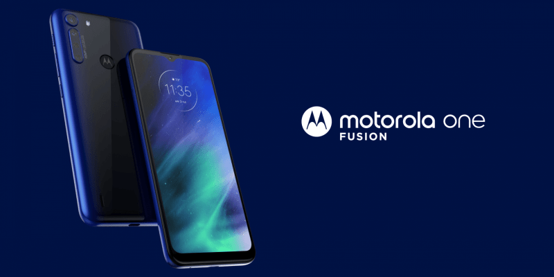 Motorola представила смартфон Motorola One Fusion (motorola one fusion rtbjdqo)