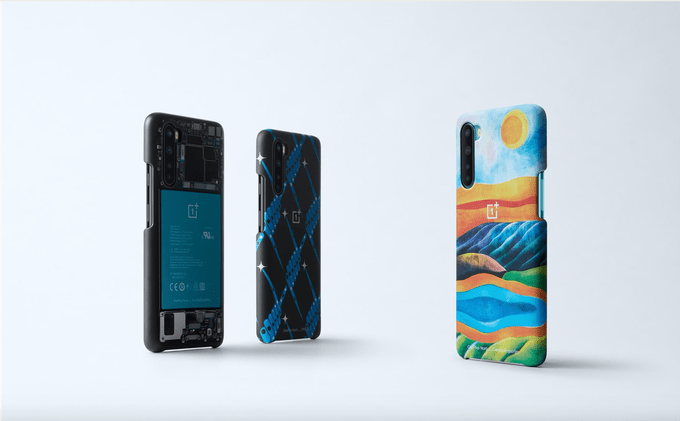 OnePlus анонсировала долгожданный смартфон OnePlus Nord (oneplus creator cases 1)
