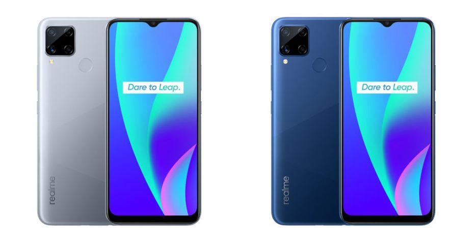 В сеть утекли характеристики смартфона Realme C15 (realme c15 seagull grey and marine blue)