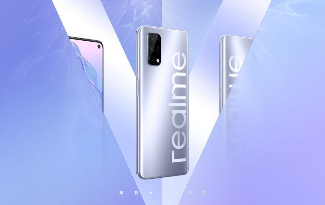 Realme анонсировала смартфон Realme V5 (realme v5 first poster 1068x675 1)