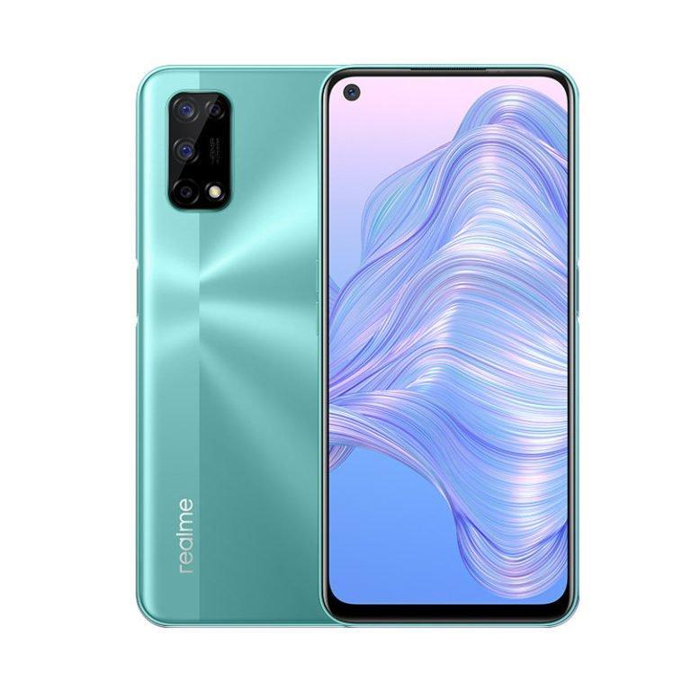Раскрыты характеристики и цвета смартфона Realme V5 (realme v5 render 3 768x768 1)