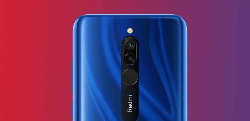 Redmi 8 получает обновление Android 10 (redmi 8 rear)