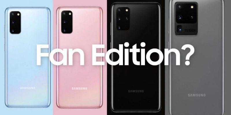 Samsung Galaxy S20 Fan Edition поступит в продажу по цене 750 долларов (s20 fan edition)