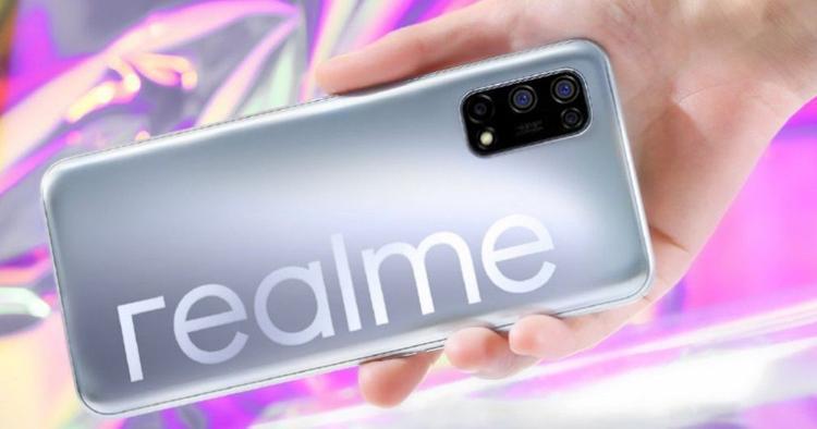 Раскрыты характеристики и цвета смартфона Realme V5 (v1)