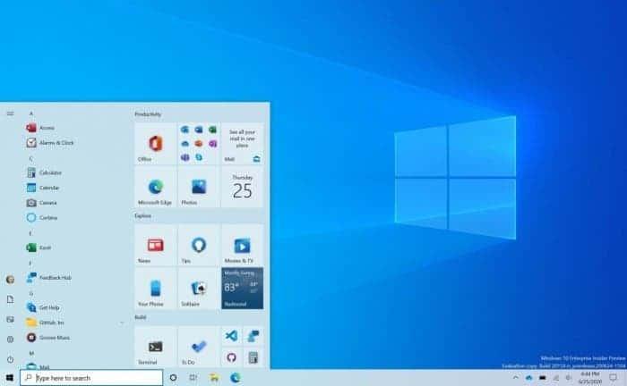Microsoft: новое меню пуск Windows 10 скоро будет доступно всем пользователям (windows 10 1)